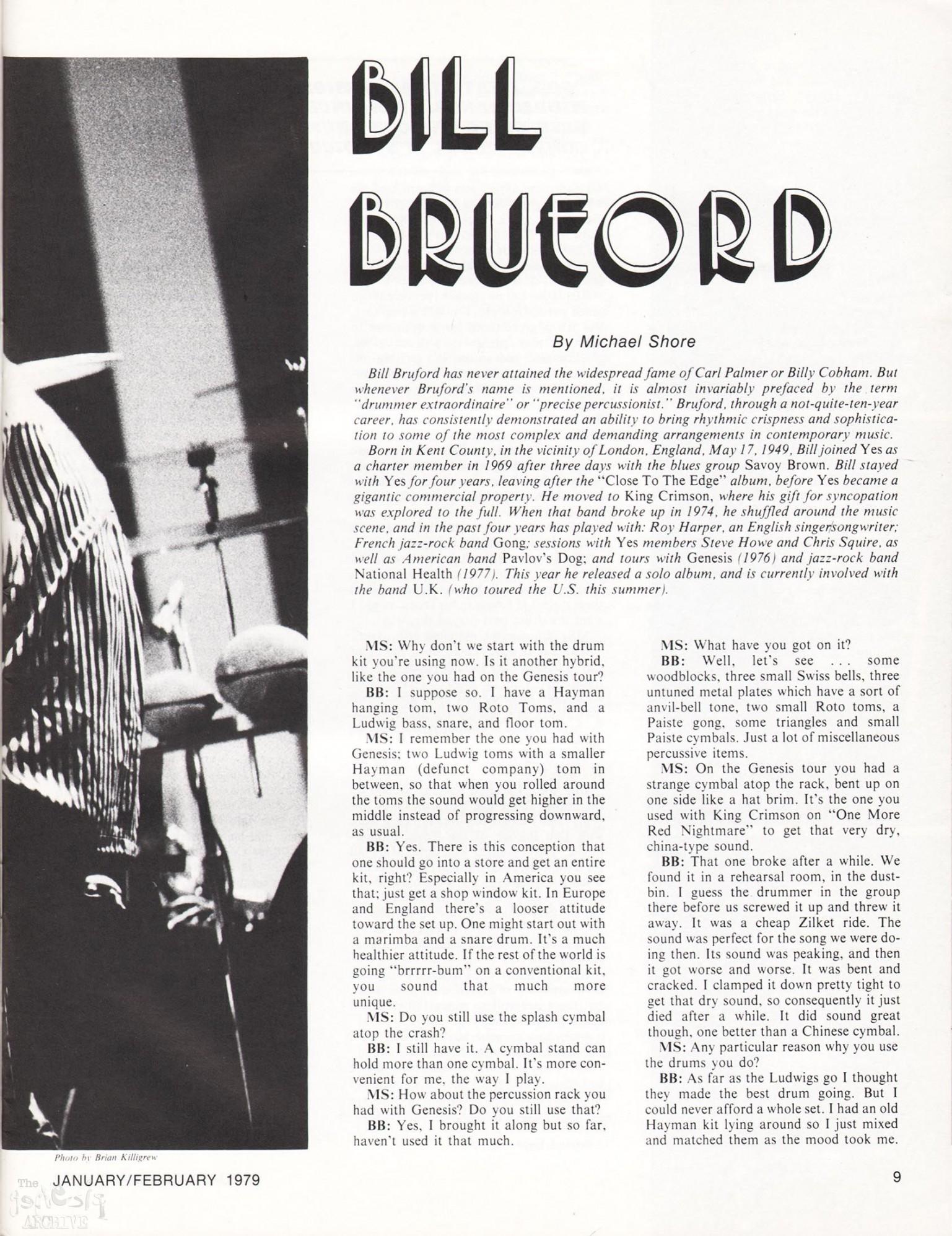 Modern Drummer Magazine 10/1999 Max Weinberg