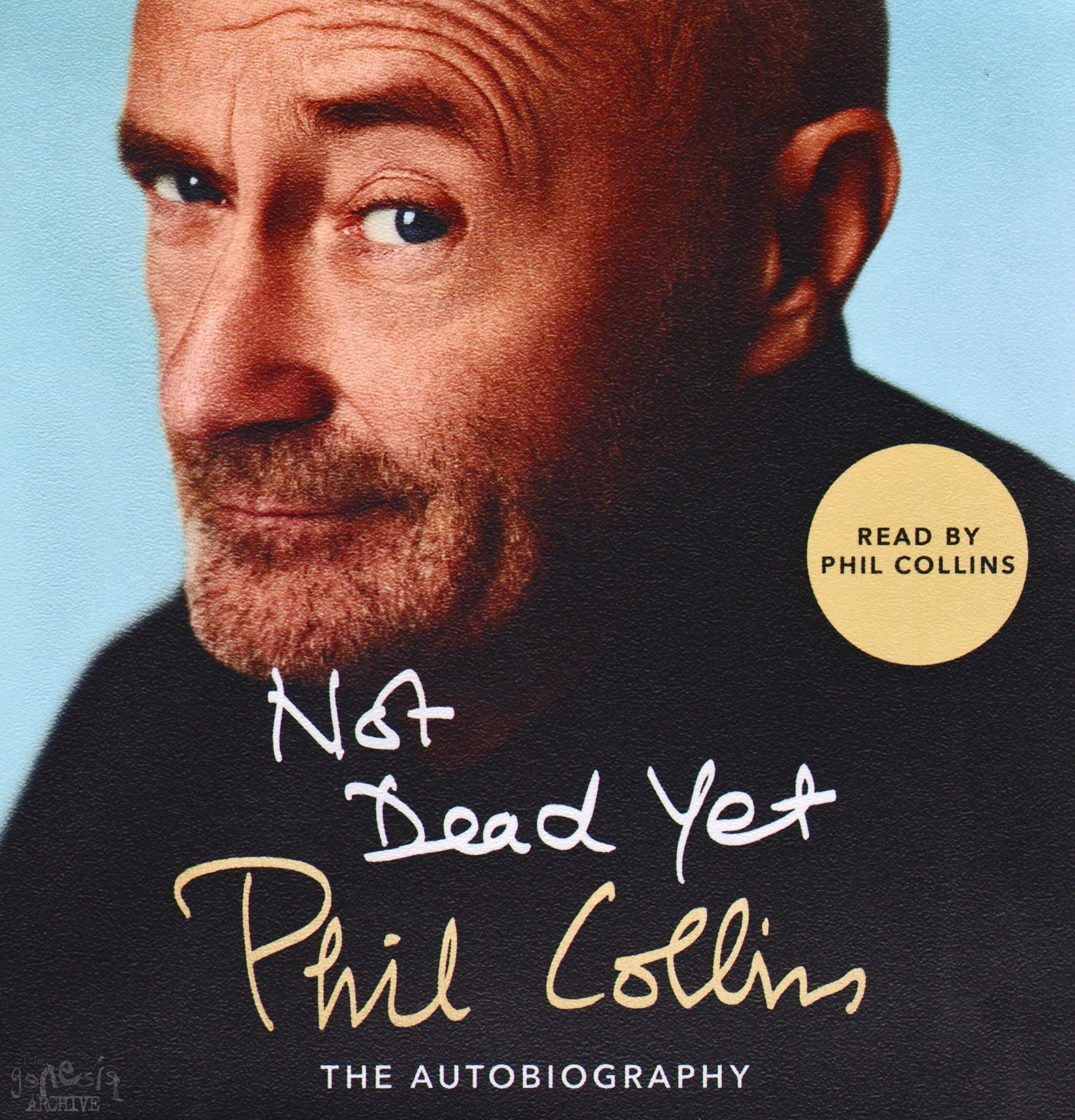 Audiobook Autobiography Phil Collins Not Dead Yet