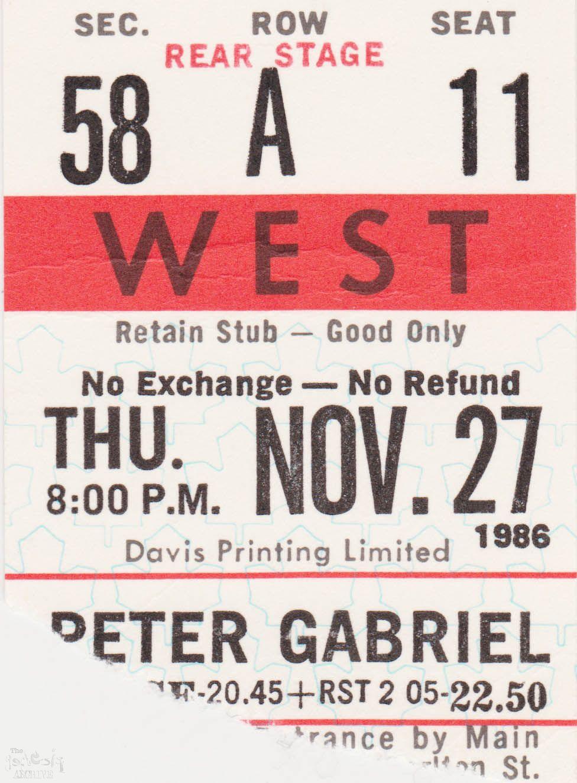 19th november 1986