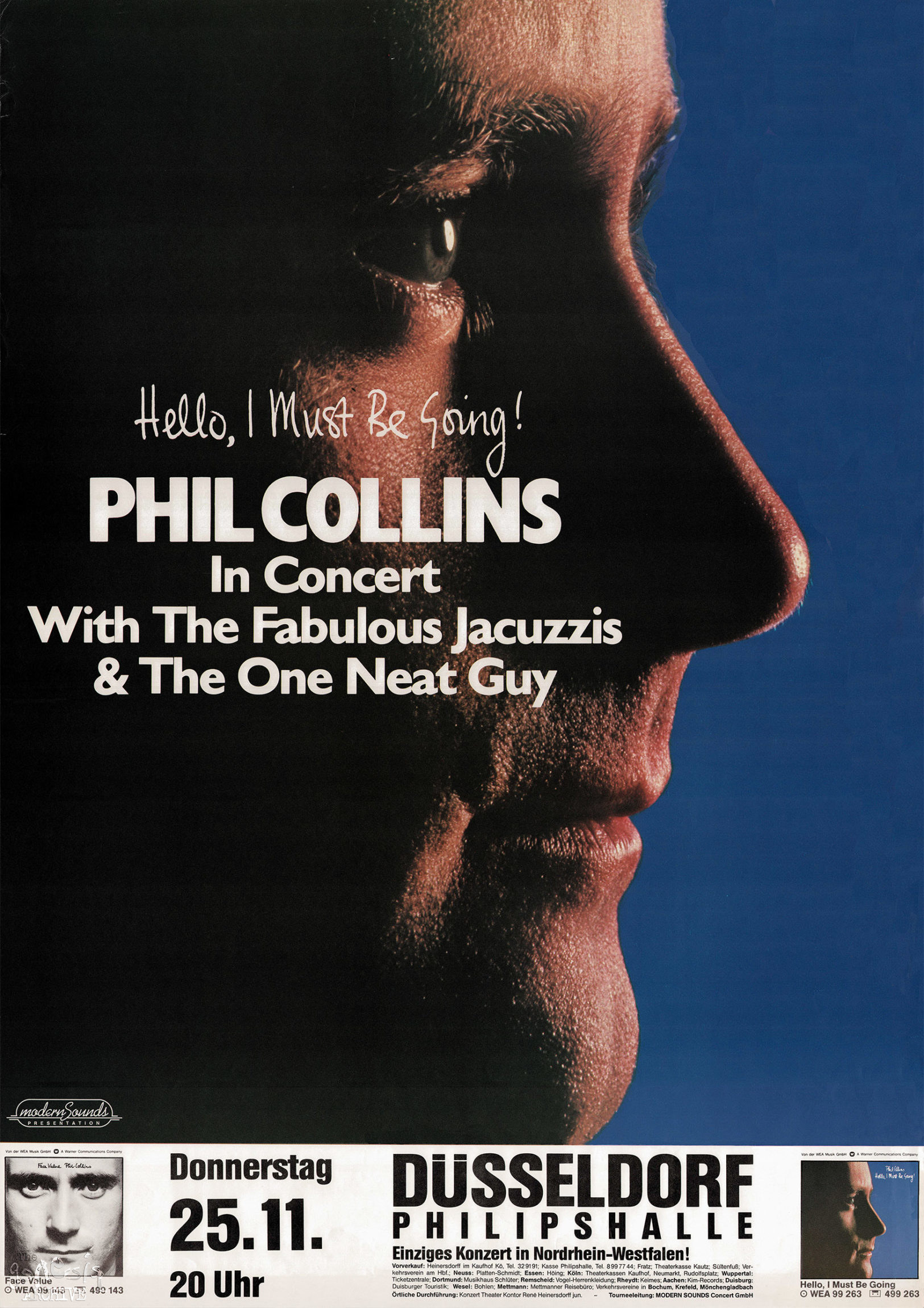 Phil Collins Hello I Must Be Going Atlantic 14