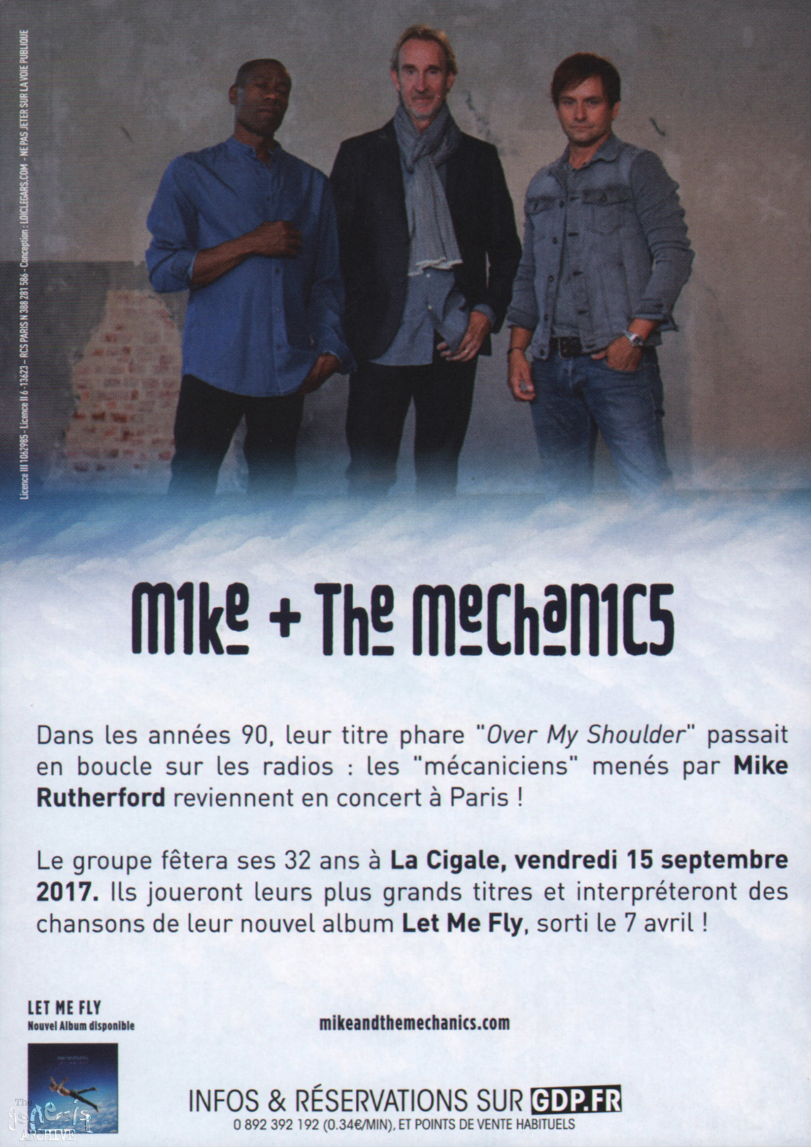 mike + the mechanics - let me fly (2017)